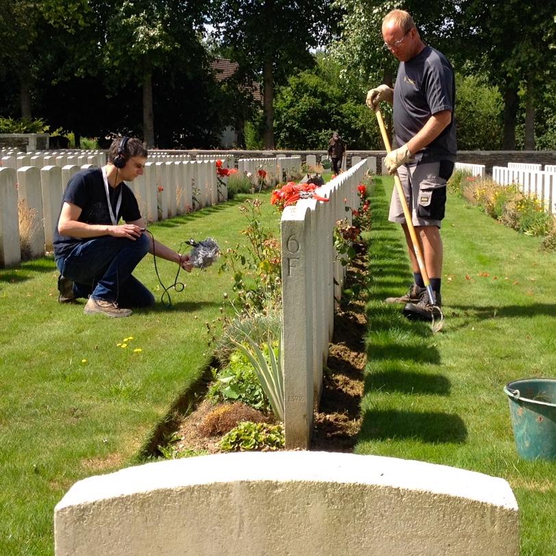 Jardinez dans les cimetières de la Grande Guerre