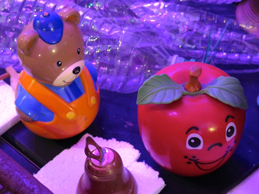 Jouets ours pomme
